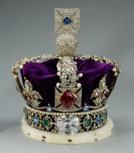 The Imperial State Crown; Queen Elizabeth the Queen Mother's Cro